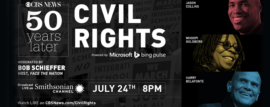 CBS Civil Rights Vertical-Collins,Goldberg, Belafonte