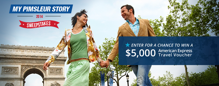 Pimsleur Sweepstakes