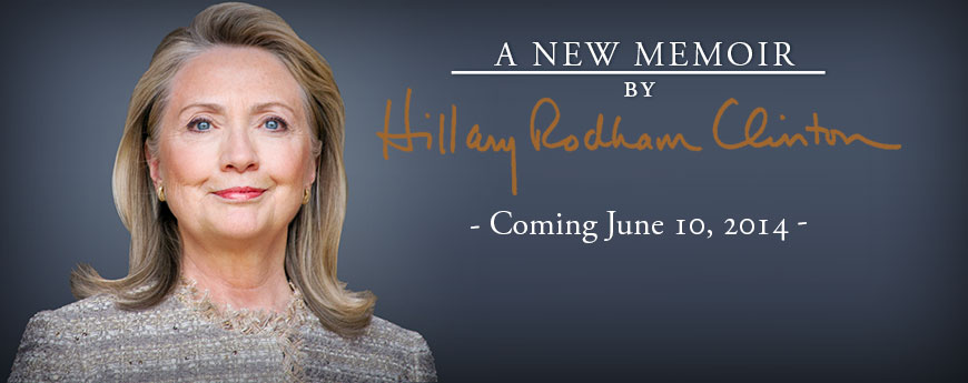 Hillary Rodham Clinton Memoir Announcement