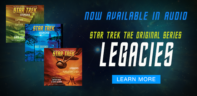 Star Trek Legacies Series in Audio