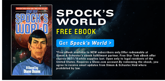 Spock's World Free eBook
