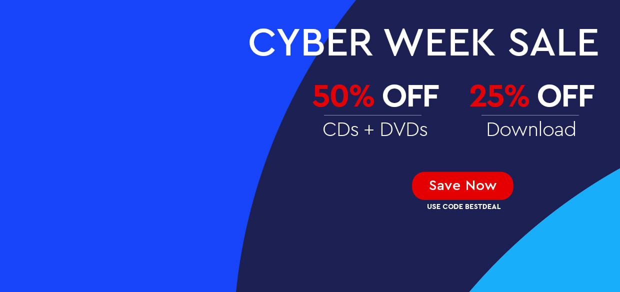 Biggest Savings of the Year! - 50% OFF CDs/DVDs and 25% OFF Downloads - use code BESTDEAL