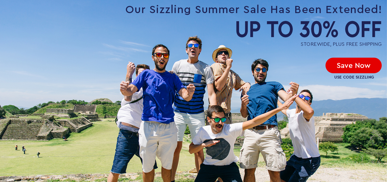 EXTENDED SIZZLING SUMMER SALE - UP TO 30% OFF - Use code SIZZLING