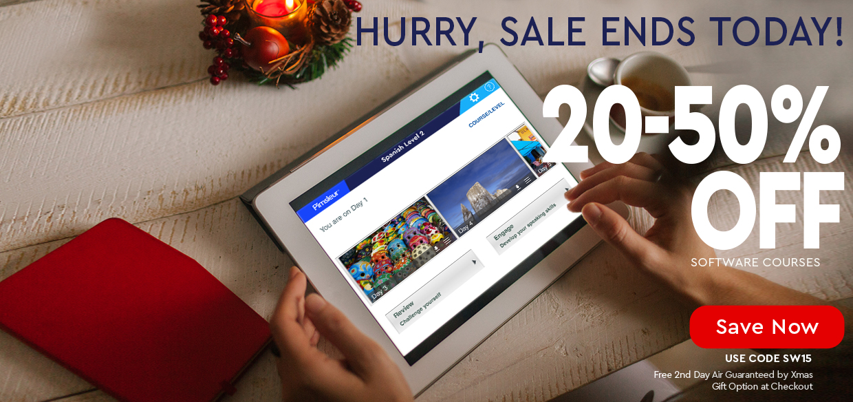 Hurry, Flash Sale Ends Today! — 20 to 50% OFF w/ free guaranteed delivery by Christmas