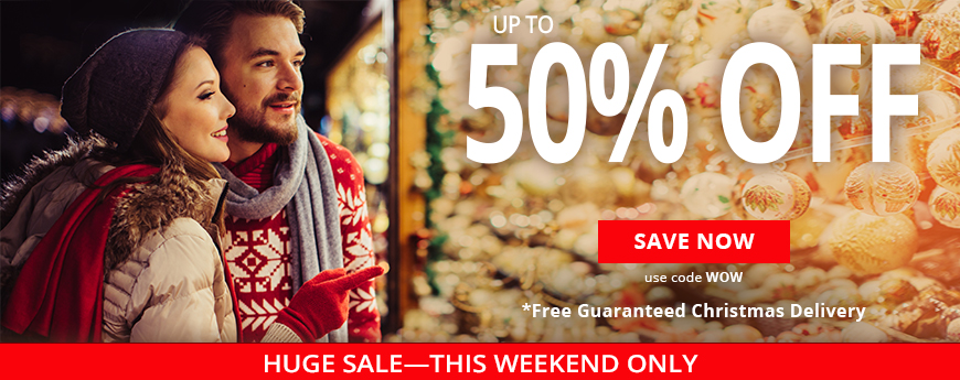 Huge Sale - This Weekend Only - up to 50% Off - Use code WOW