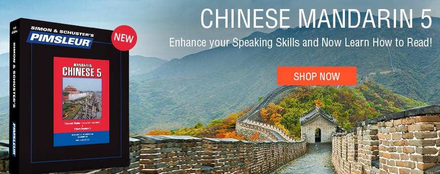 New Level! Chinese Mandarin 5!