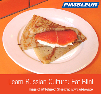 How to Speak Russian: Eat Blini.