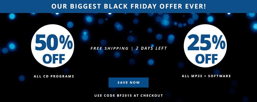 Our Biggest Black Friday Offer Ever!
