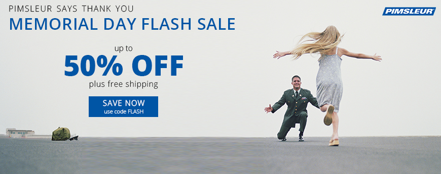 Memorial Day Sale - use code FLASH