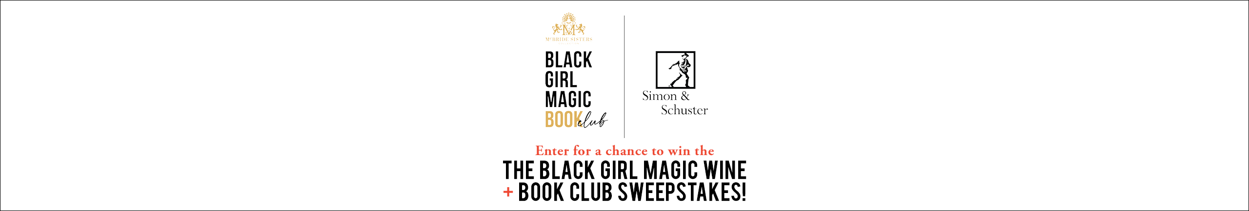 Enter for a chance to win the Black Girl Magic Wine + Book Club Sweepstakes!