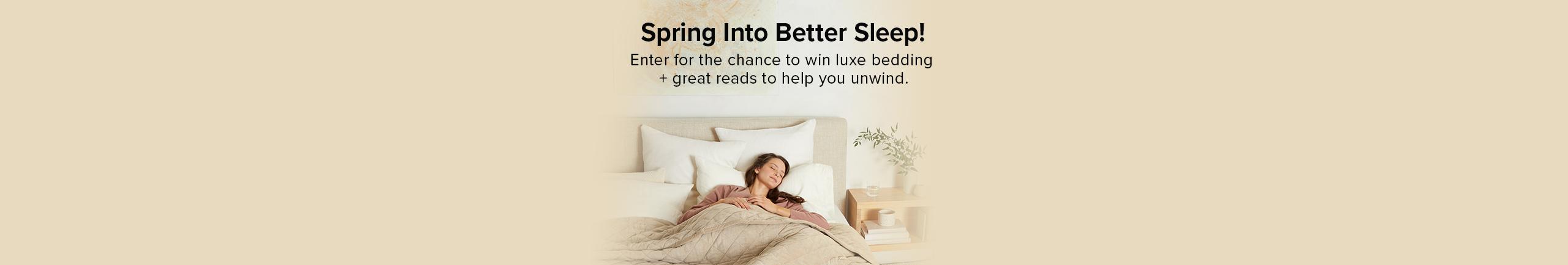 Spring into Better Sleep