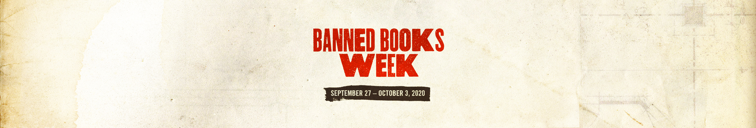 Banned Books Week September 27 – October 3, 2020