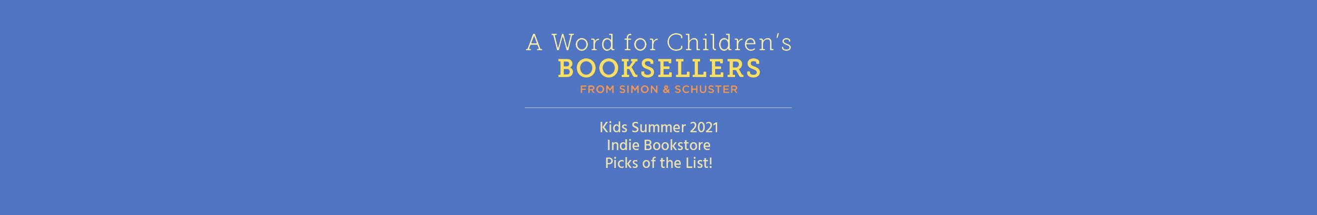 CHILDREN'S BOOKSELLER