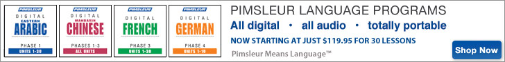Pimsleur New Low Pricing MP3
